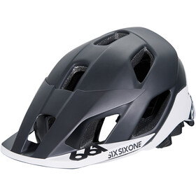 SixSixOne EVO AM Patrol Helmet black/white